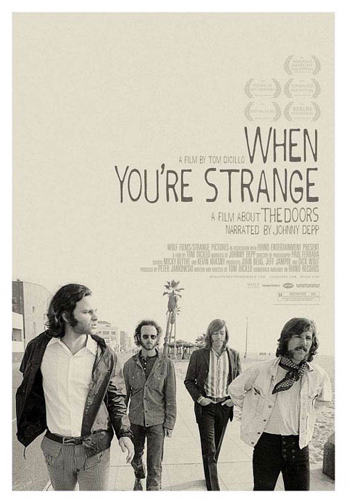 When You're Strange: A Film About the Doors Large Poster