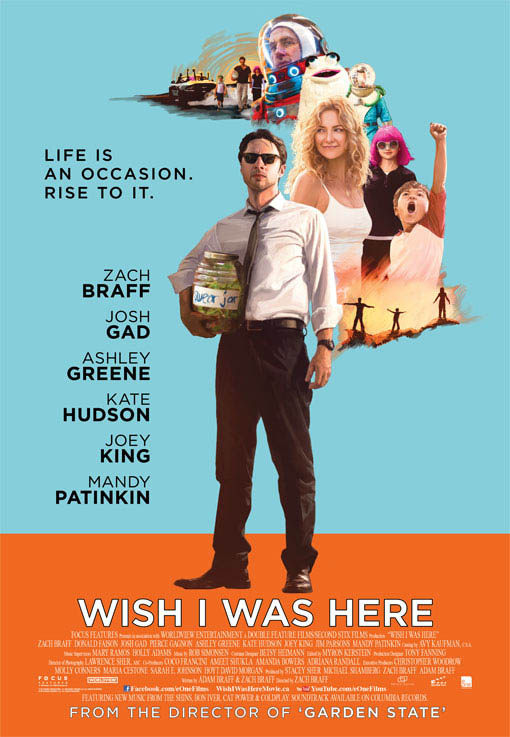 Wish I Was Here Large Poster