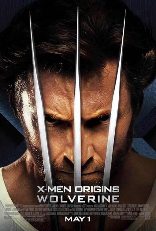 xmen origins wolverine poster