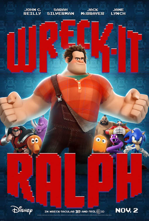 Wreck-It Ralph Large Poster