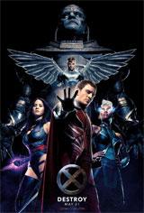 X-Men: Apocalypse 3D Movie Poster