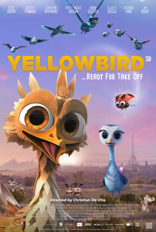 Yellowbird Large Poster