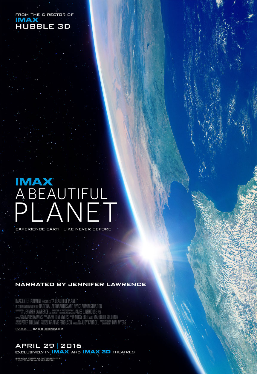A Beautiful Planet Large Poster