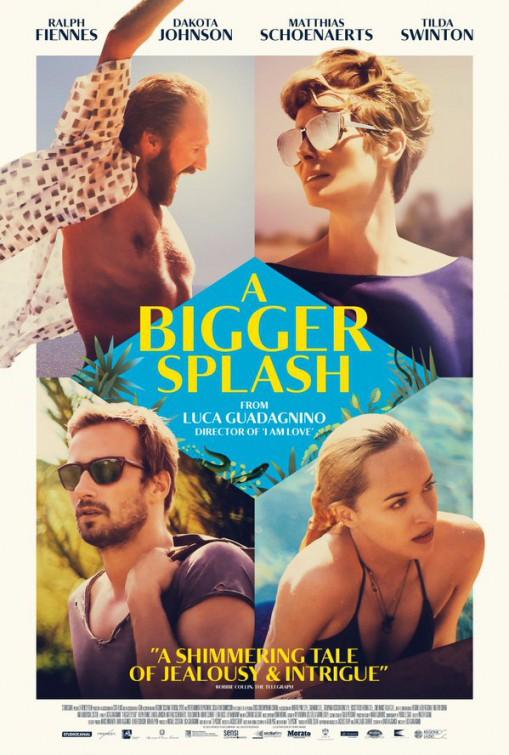 A Bigger Splash Large Poster