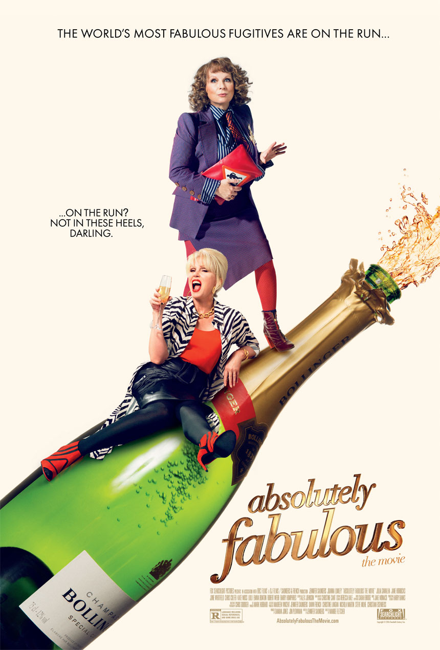 Absolutely Fabulous: The Movie Large Poster