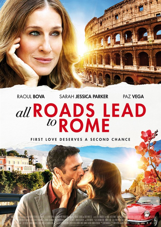 All Roads Lead to Rome Large Poster