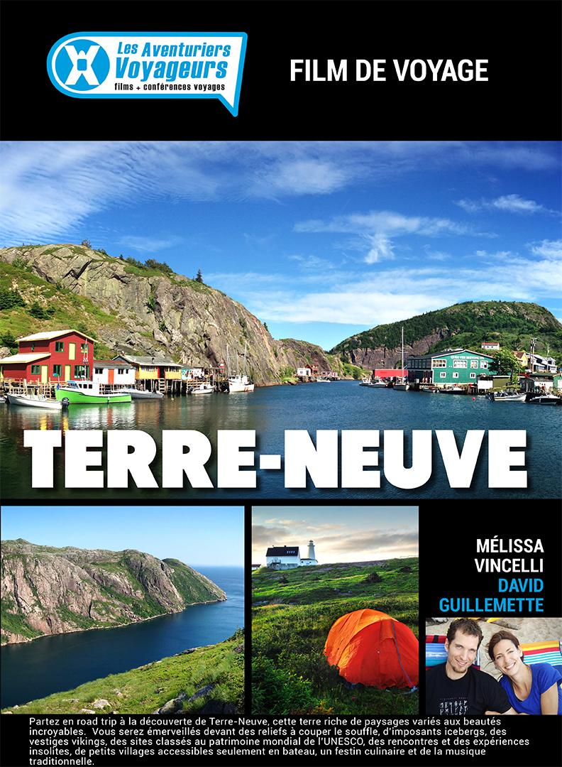 Les Aventuriers Voyageurs: Terre-Neuve Large Poster