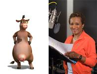 "Wanda Sykes (pictured) plays Bessy, a no-nonsense cow who's all attitude, in the animated feature  ""Barnyard. "" Paramount Pictures presents in association with Nickelodeon Movies an O Entertainment production, a Steve Oedekerk film,   ""Barnyard."""