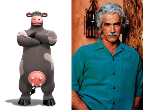 "Sam Elliott (pictured) plays Ben, Otis's father and the man who keeps the barnyard running, in the animated feature  ""Barnyard. "" Paramount Pictures presents in association with Nickelodeon Movies an O Entertainment production, a Steve Oedekerk film,   ""Barnyard."" - Large"