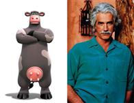 "Sam Elliott (pictured) plays Ben, Otis's father and the man who keeps the barnyard running, in the animated feature  ""Barnyard. "" Paramount Pictures presents in association with Nickelodeon Movies an O Entertainment production, a Steve Oedekerk film,   ""Barnyard."""