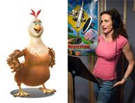 "Andie MacDowell (pictured) plays Etta, the maternal hen who keeps the henhouse in order, in the animated feature  ""Barnyard. "" Paramount Pictures presents in association with Nickelodeon Movies an O Entertainment production, a Steve Oedekerk film,   ""Barnyard."""