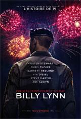 Fin de mi-temps pour le soldat Billy Lynn Poster