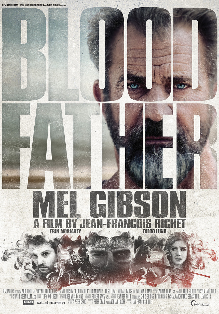Blood Father Large Poster