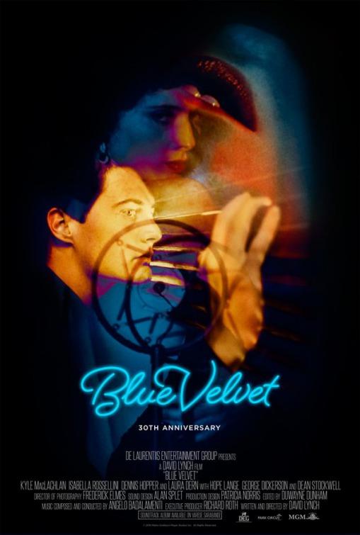 Blue Velvet Large Poster