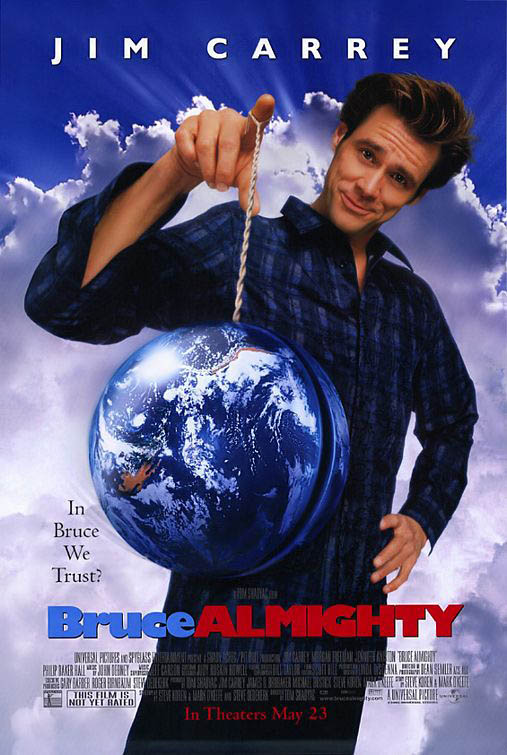 Bruce Almighty Large Poster