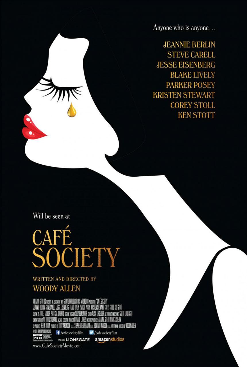 Café Society Large Poster
