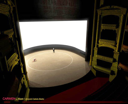 Carmen LIVE via Satellite from Gran Teatre del Liceu, Barcelona Photo 1 - Large