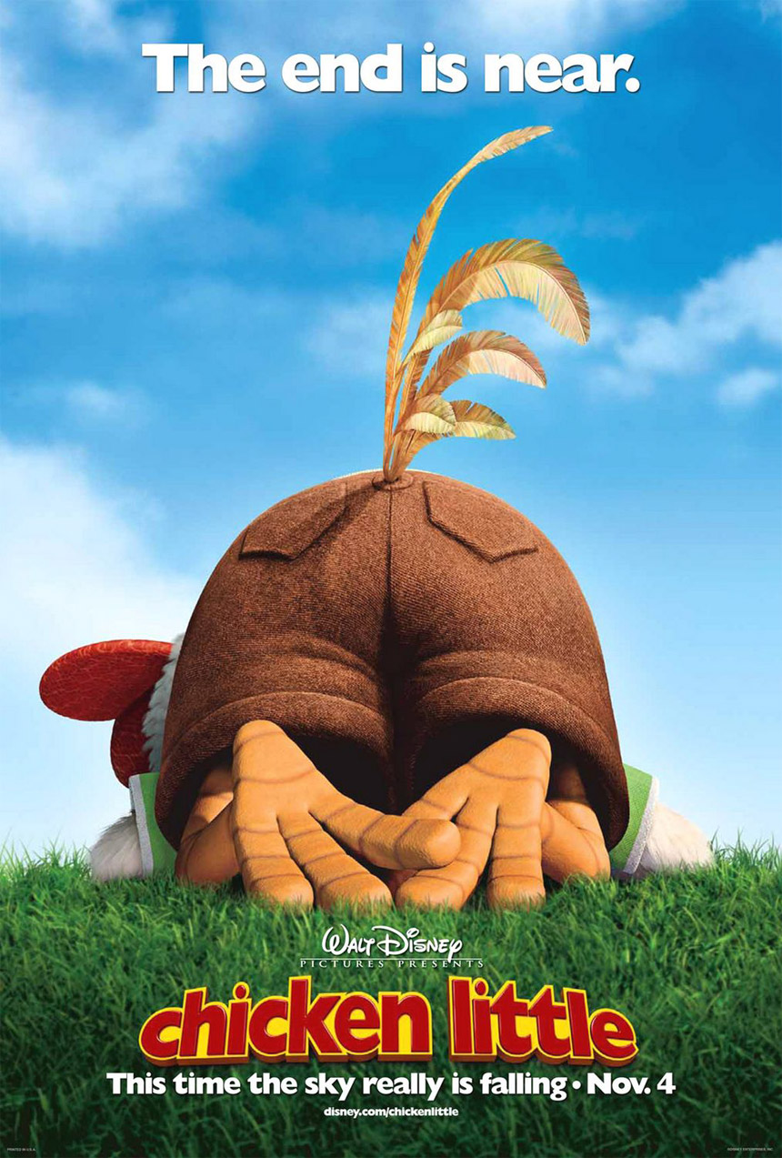Chicken Little Large Poster