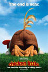 Chicken Little in Disney Digital 3-D Movie Poster