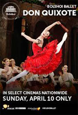 The Bolshoi Ballet: Don Quixote Movie Poster