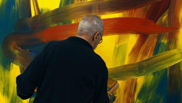 Gerhard Richter Painting Photo 5 - Large