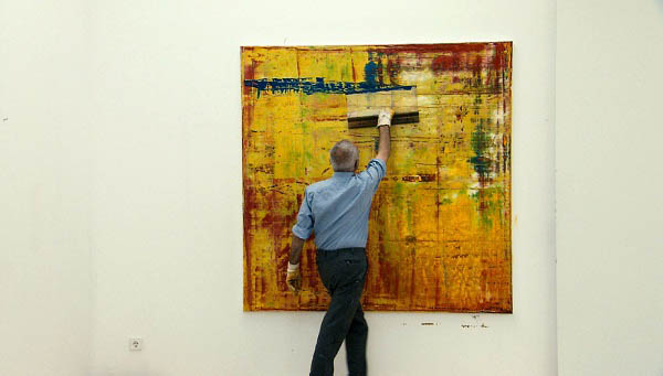 Gerhard Richter Painting Photo 6 - Large