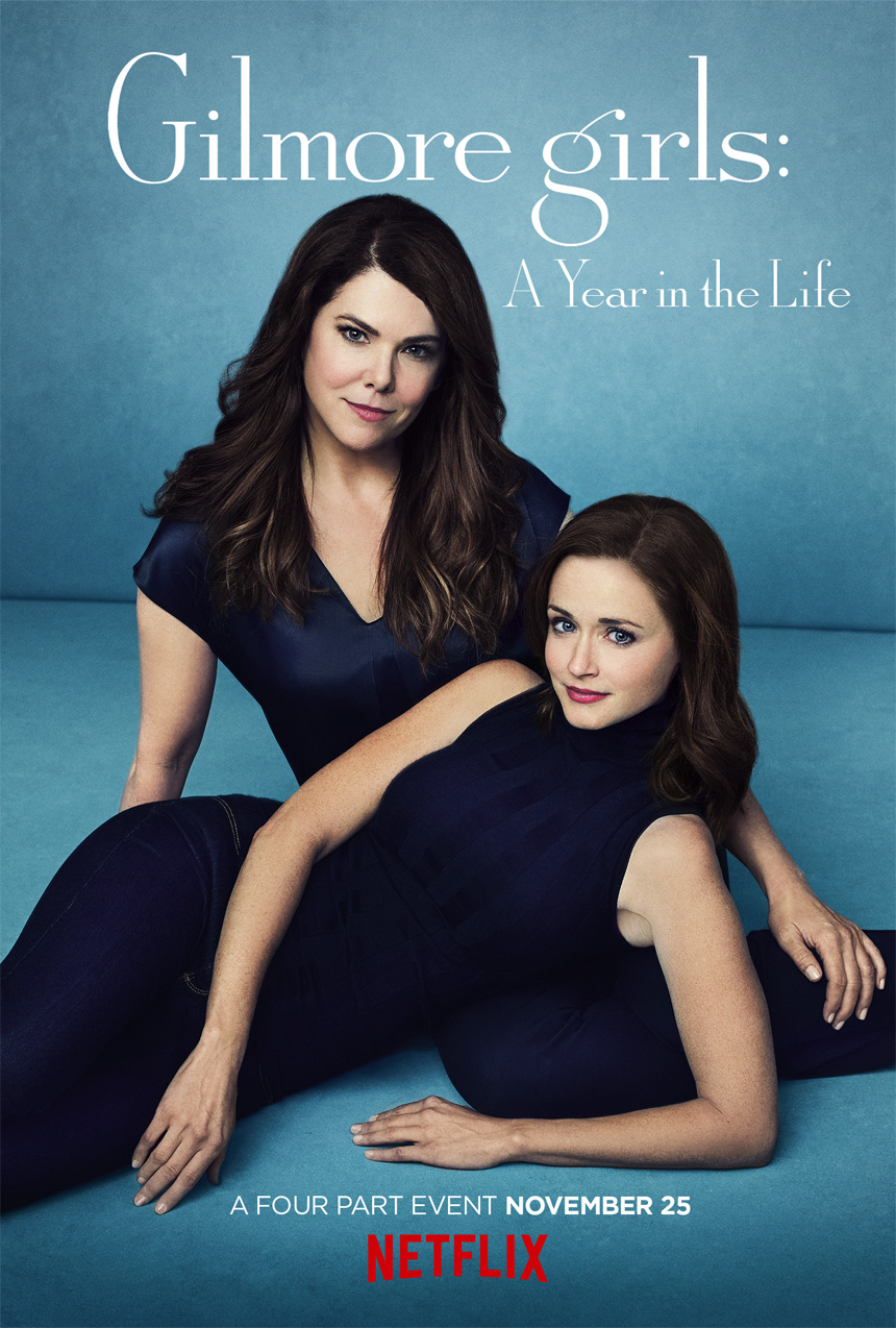 Gilmore Girls: A Year in the Life (Netflix) Large Poster