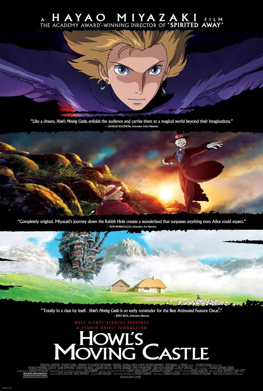Howl's Moving Castle Large Poster
