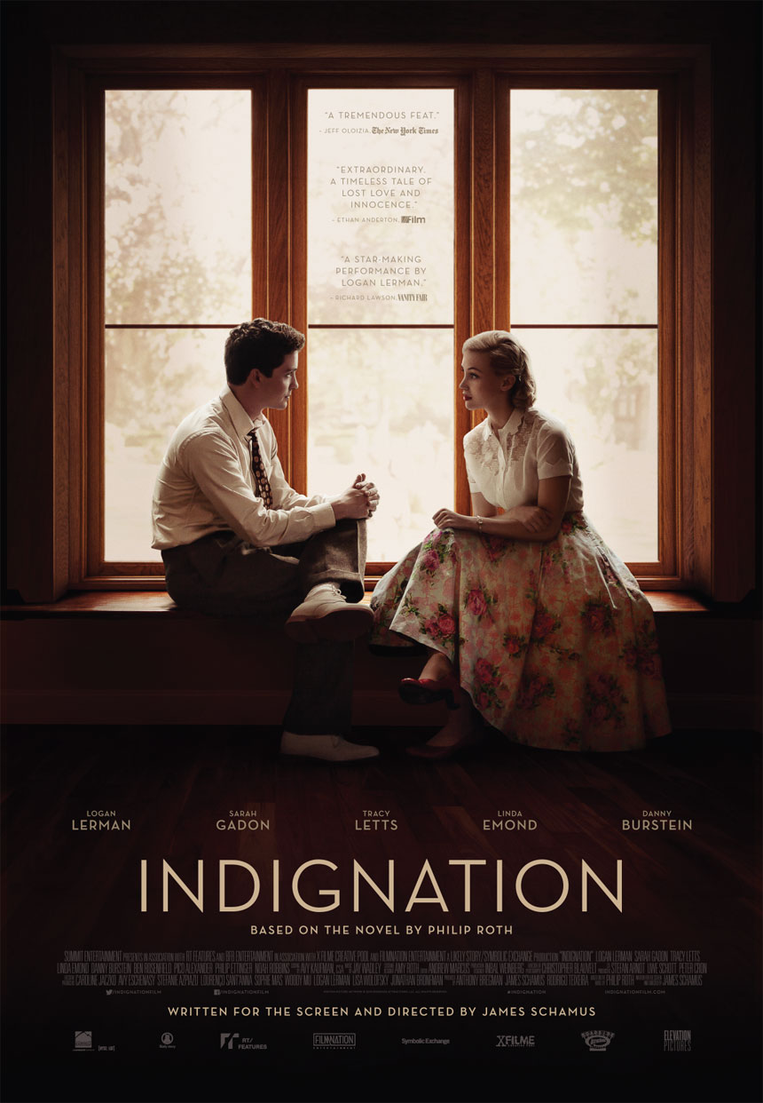 Indignation Large Poster