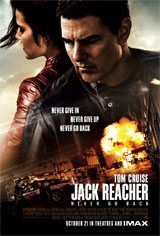 Jack Reacher: Never Go Back Movie Poster