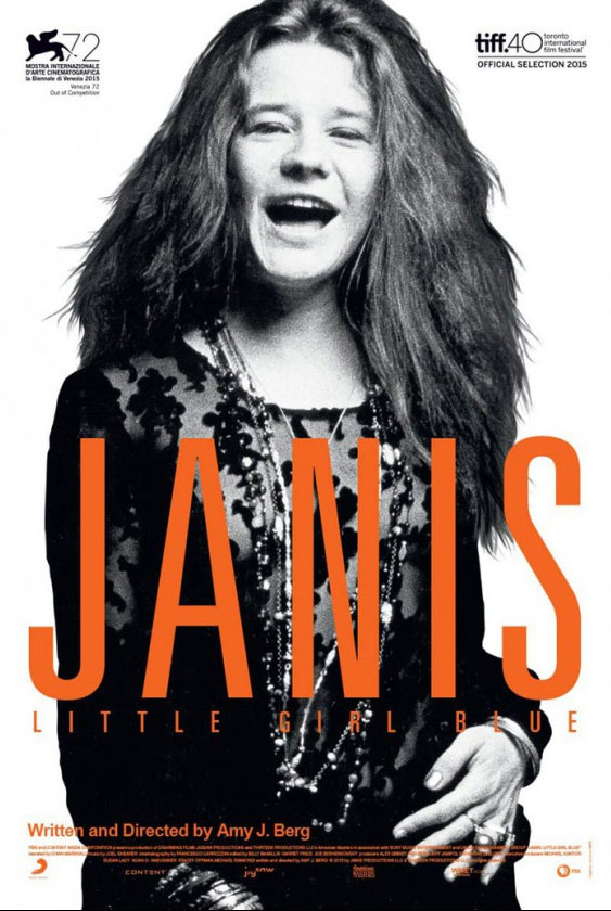 Janis: Little Girl Blue Large Poster