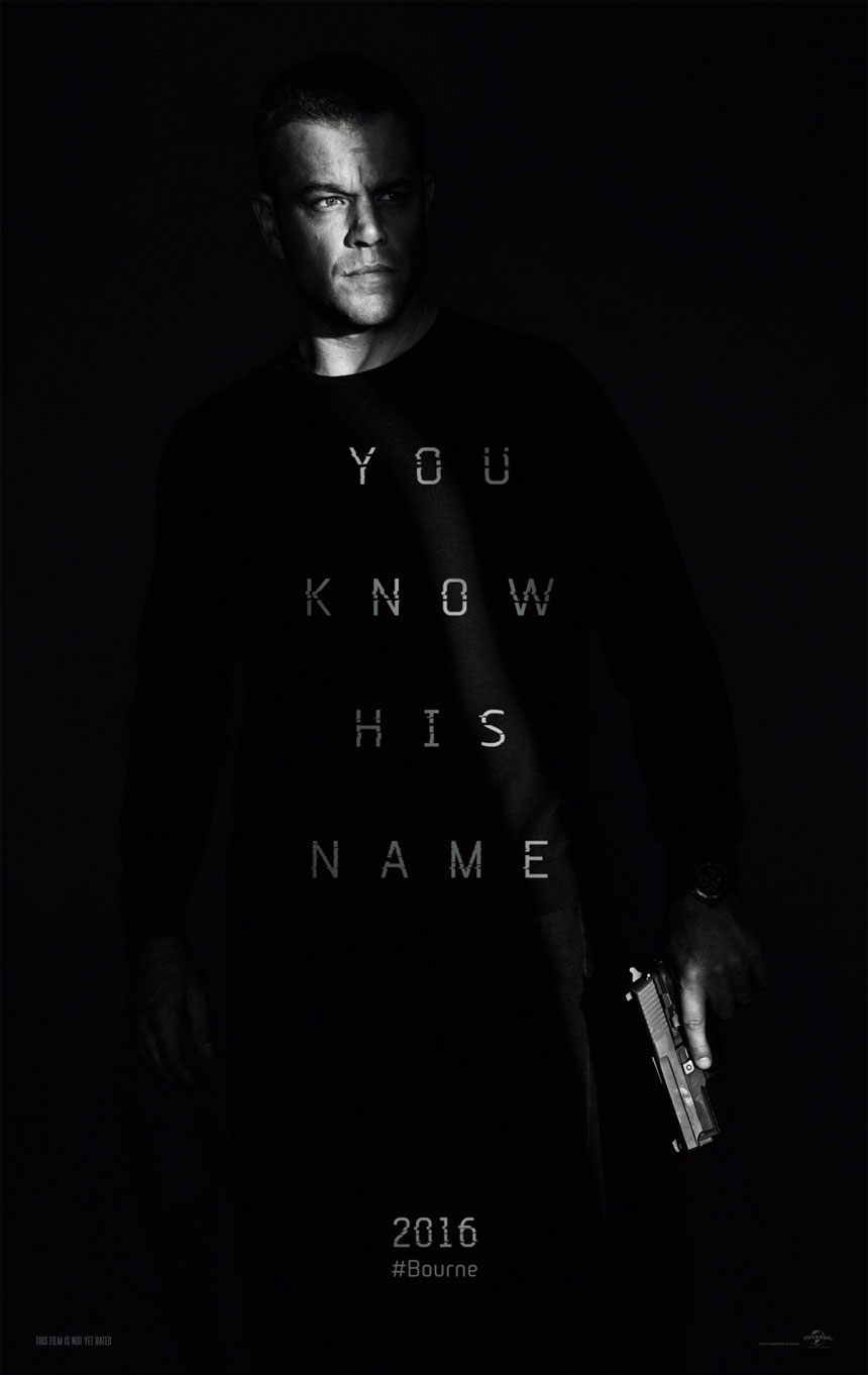 Jason Bourne Large Poster