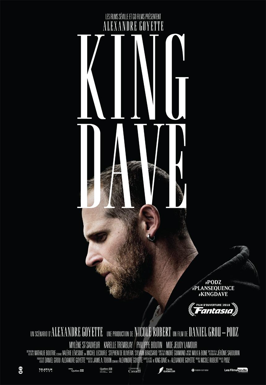 King Dave Large Poster