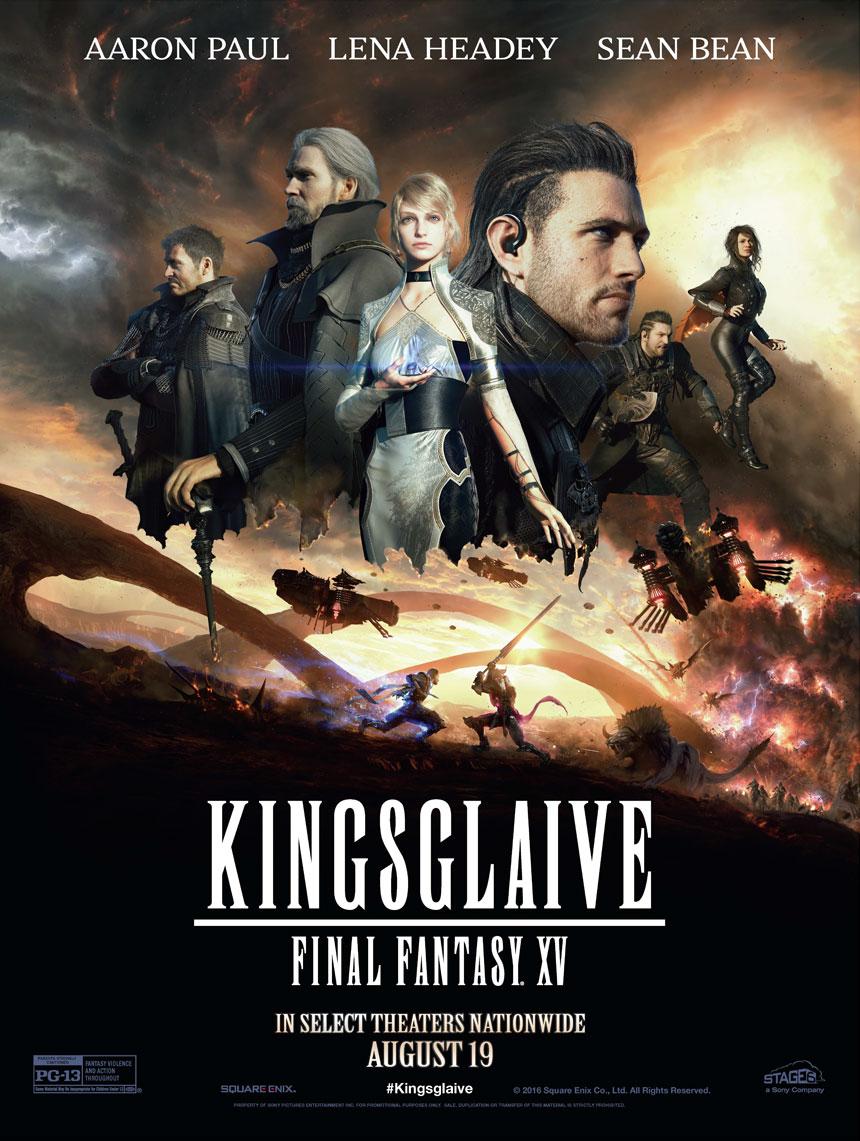 Kingsglaive: Final Fantasy XV Large Poster