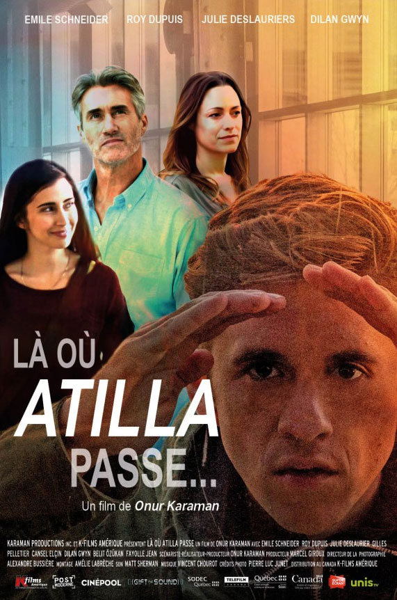 There Where Atilla Passes... Large Poster