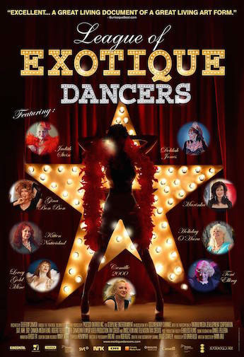 League of Exotique Dancers Large Poster