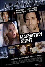 Manhattan Night (Toronto, Calgary) Poster