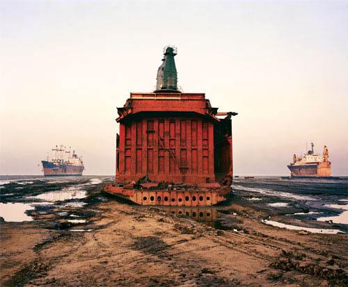 Shipbreaking in Chittagong, Bangladesh - Large