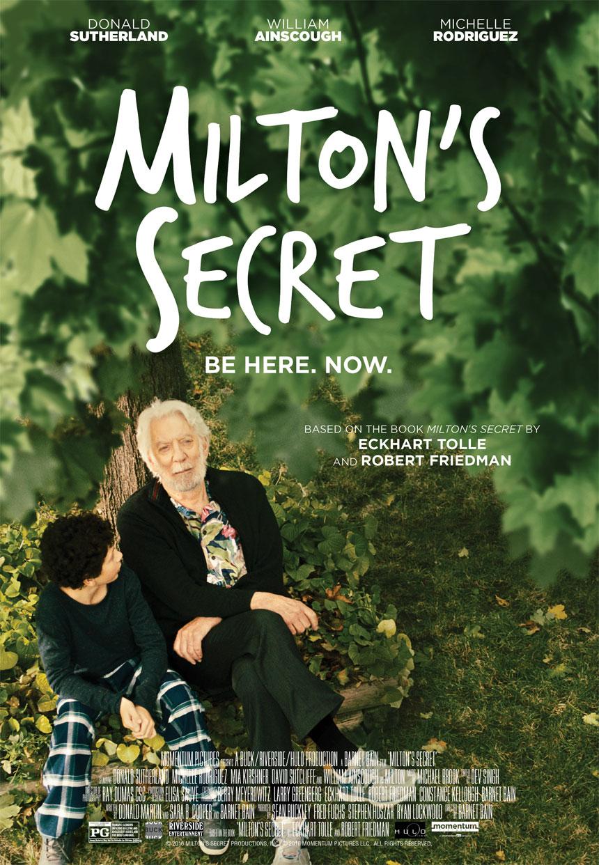 Milton's Secret Large Poster