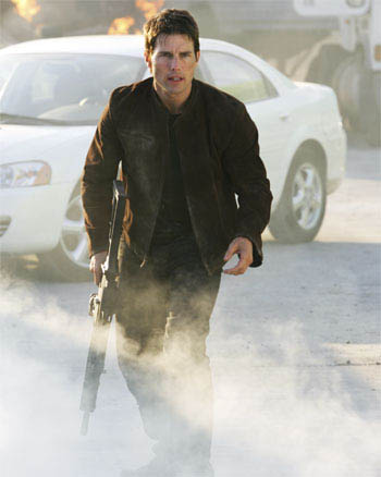 "Ethan Hunt (Tom Cruise, pictured) faces his most personal mission yet in ""Mission: Impossible III."""