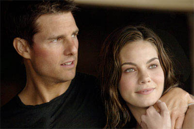 "Ethan Hunt (Tom Cruise, right) rescues IMF Agent Lindsey Farris (Keri Russell, left) in ""Mission: Impossible III.""   - Large"