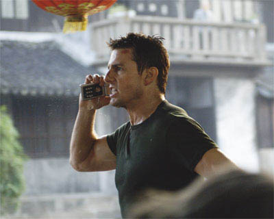 "Ethan Hunt (Tom Cruise, pictured) faces his most personal mission yet in ""Mission: Impossible III."" - Large"