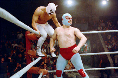 "Jack Black (right) stars as Ignacio (friends call him Nacho), a cook by day in a Mexican orphanage, who moonlights as a Lucha Libre wrestler to raise money for the orphans in   ""Nacho Libre"" a comedy from the creators of  ""Napoleon Dynamite"" and the writer of  ""The School of Rock."" - Large"