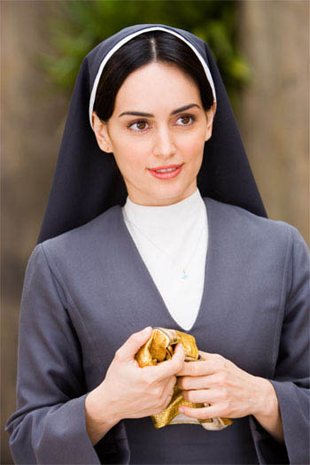 "In ""Nacho Libre"" Ana de la Reguera (pictured) stars as Sister Encarnación, who joins the monastery and inspires Nacho to raise money for the orphanage by becoming a Lucha Libre wrestler Paramount Pictures presents a Nickelodeon Movies/Black & White production of a Jared Hess film,  ""Nacho Libre."" - Large"
