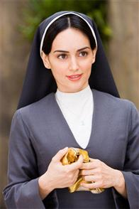 "In ""Nacho Libre"" Ana de la Reguera (pictured) stars as Sister Encarnación, who joins the monastery and inspires Nacho to raise money for the orphanage by becoming a Lucha Libre wrestler Paramount Pictures presents a Nickelodeon Movies/Black & White production of a Jared Hess film,  ""Nacho Libre."""