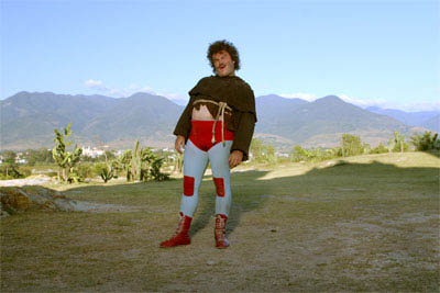 """Jack Black (pictured) stars as Ignacio (friends call him Nacho), a cook by day in a Mexican orphanage, who moonlights as a Lucha Libre wrestler to raise money for the orphans in   """"Nacho Libre"""" a comedy from the creators of  """"Napoleon Dynamite"""" and the writer of  """"The School of Rock."""" - Large"""