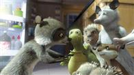 The possums, Ozzie (WILLIAM SHATNER) and his daughter, Heather (AVRIL LAVIGNE), enjoy some of the wonders that can be found in suburbia in DreamWorks Animation's computer-animated comedy OVER THE HEDGE.