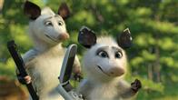 Hammy (STEVE CARELL) and Heather (AVRIL LAVIGNE) enjoy some of the luxuries of suburbia in DreamWorks Animation's computer-animated comedy OVER THE HEDGE.