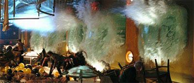 "A scene from Warner Bros. Pictures' and Virtual Studios' action adventure ""Poseidon."" - Large"
