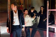 "(L-r) JOSH LUCAS as Dylan Johns, FREDDY RODRIGUEZ as Valentin, JIMMY BENNETT as Conor James and JACINDA BARRETT as Maggie James in Warner Bros. Pictures' and Virtual Studios' action adventure ""Poseidon."""